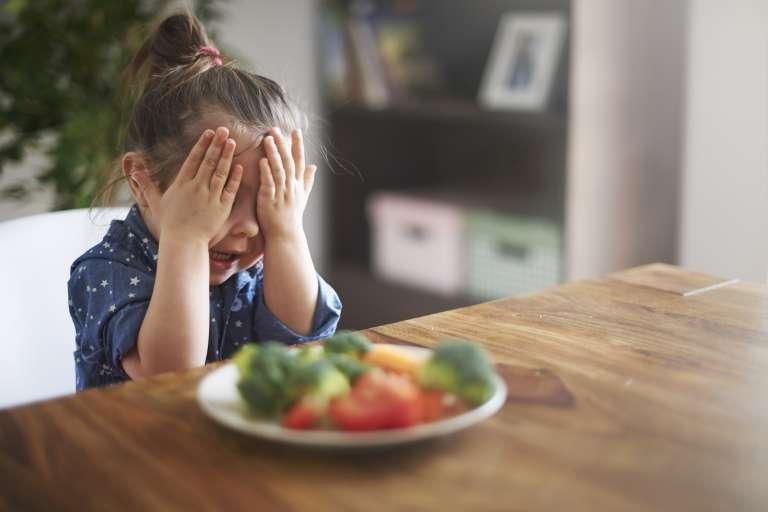 Enfant ne veut pas manger