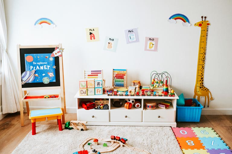 la chambre Montessori