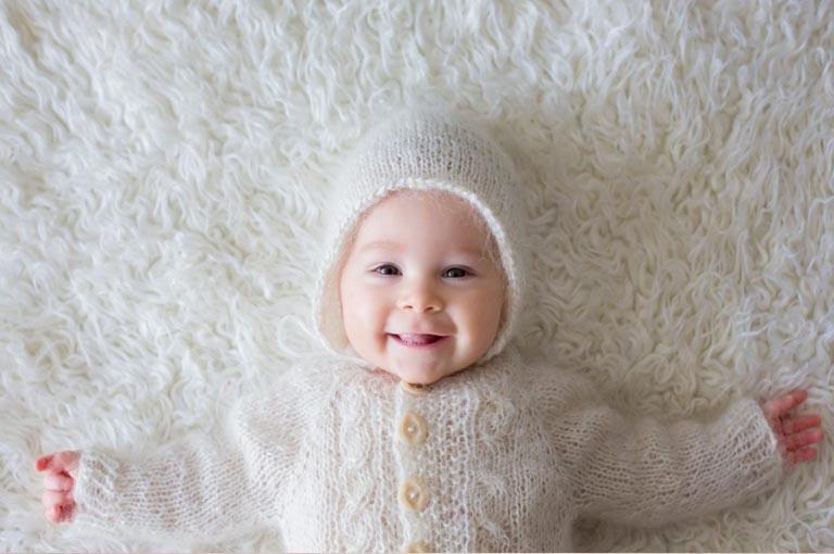 prendre soin de la peau de bébé en hiver