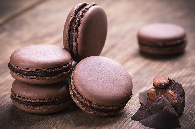 macarons-au-chocolat