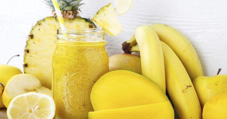 smoothie-exotique-ananas-mangue